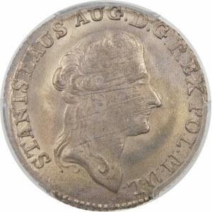 Stanisław August Poniatowski, Złotówka 1794/3 MV, Warszawa – przebitka daty