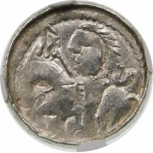 Bolesław II Śmiały, Denar – Książę na koniu – S