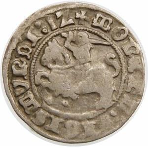 Zygmunt I Stary, Półgrosz 1512, Wilno – Pierścień – dwukropek – rzadka