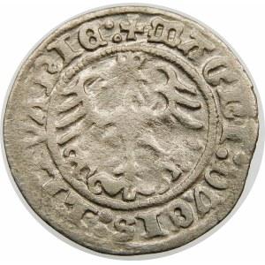 Zygmunt I Stary, Półgrosz 1513, Wilno – Pierścień – dwukropki – rzadka