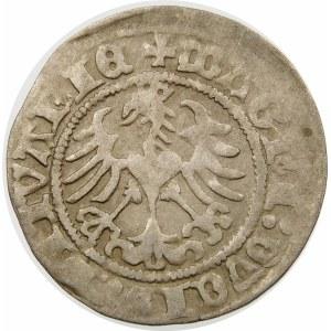 Zygmunt I Stary, Półgrosz 1518, Wilno – Pogoń z pochwą – MONTEA – nieopisany wariant