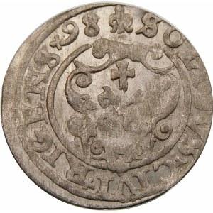 Zygmunt III Waza, Szeląg 1598, Ryga – wariant