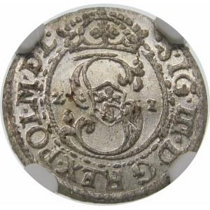 Zygmunt III Waza, Szeląg 1621, Ryga – POL M D L
