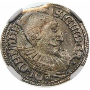 Zygmunt III Waza, Trojak 1597, Olkusz – nieopisany wariant