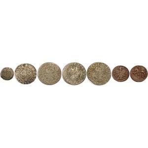 Zestaw monet Polski królewskiej – zestaw (szt. 7)