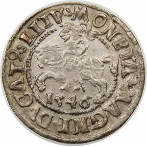 Zygmunt II August, Półgrosz 1546, Wilno – stary typ Orła – L/LITV
