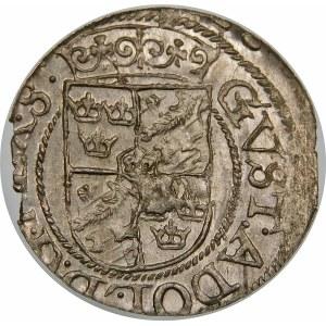 Gustaw II Adolf, Półtorak 1624, Ryga