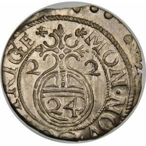 Gustaw II Adolf, Półtorak 1622, Ryga
