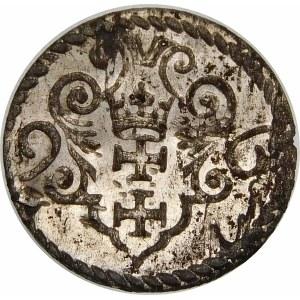 Zygmunt III Waza, Denar 1596, Gdańsk – duża data