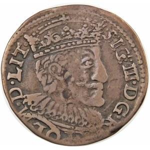Zygmunt III Waza, Trojak 1591, Olkusz – bez znaku – NIÆ
