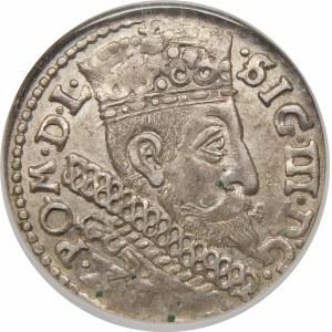 Zygmunt III Waza, Trojak 1598, Bydgoszcz – B z lewej – hybryda