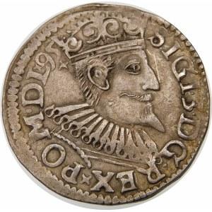 Zygmunt III Waza, Trojak 1595, Wschowa – lilia – data na awersie – ciekawostka