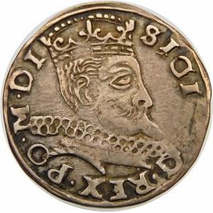 Zygmunt III Waza, Trojak 1598, Wschowa – kwiatek, I-F – SIGI 3 … PO