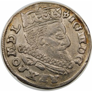 Zygmunt III Waza, Trojak 1598, Lublin – L – 98