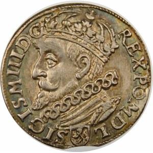Zygmunt III Waza, Trojak 1601, Kraków – głowa w lewo