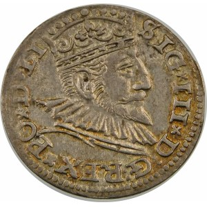 Zygmunt III Waza, Trojak 1592, Ryga – LI