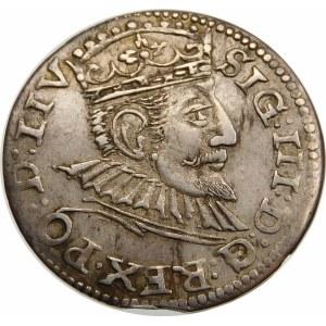 Zygmunt III Waza, Trojak 1594, Ryga – LIV