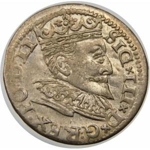 Zygmunt III Waza, Trojak 1595, Ryga – LI – hybryda