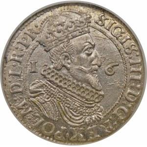 Zygmunt III Waza, Ort 1623, Gdańsk – skrócona data – PR – piękna