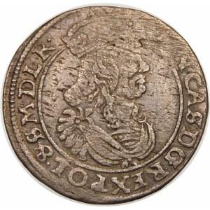 Jan II Kazimierz, Szóstak 1663 AT, Bydgoszcz – z obwódkami