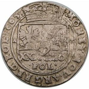 Jan II Kazimierz, Tymf 1665 AT, Bydgoszcz – SALVS - błąd SEERVATA – małe M – rzadka