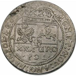 Jan II Kazimierz, Tymf 1663 AT, Kraków – SALV – błąd META EST – rzadka