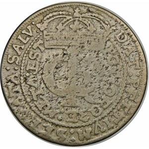 Jan II Kazimierz, Tymf 1663 AT, Kraków – SALV – błąd META i GOR – bardzo rzadka
