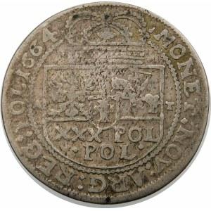Jan II Kazimierz, Tymf 1664 AT, Kraków – SALVS – błąd POL – bardzo rzadka