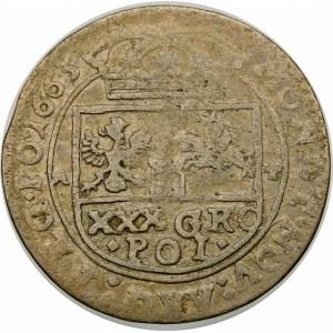 Jan II Kazimierz, Tymf 1665 AT, Kraków – SALVS
