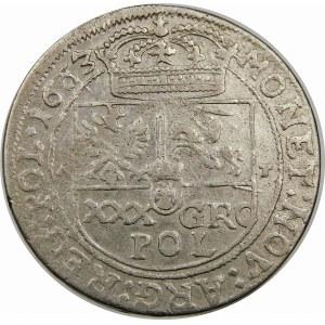 Jan II Kazimierz, Tymf 1663 AT, Lwów – SALVS – błąd lustrzane 3 – rzadka