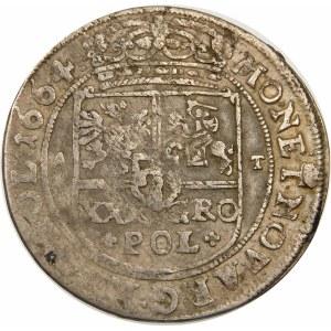 Jan II Kazimierz, Tymf 1664 AT, Bydgoszcz – SALVS – +POL+ – rzadka
