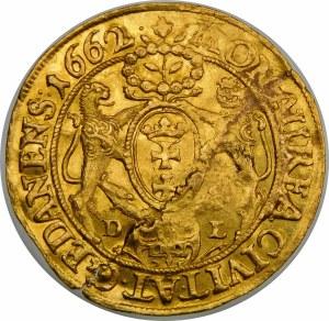 Jan II Kazimierz, Dukat 1662 DL, Gdańsk