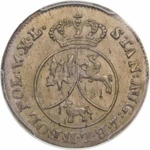 Stanisław August Poniatowski, 10 groszy miedzianych 1788 EB, Warszawa