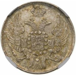 Zabór rosyjski, 15 kopiejek = 1 złoty 1836 НГ, Petersburg