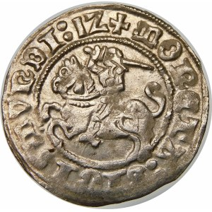 Zygmunt I Stary, Półgrosz 1512, Wilno – dwukropek