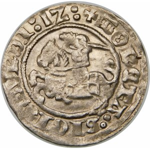 Zygmunt I Stary, Półgrosz 1512, Wilno – ukośny dwukropek, dwukropki
