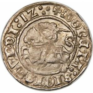 Zygmunt I Stary, Półgrosz 1512, Wilno – trzykropek, dwukropek