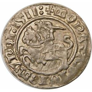 Zygmunt I Stary, Półgrosz 1511, Wilno – dwukropki
