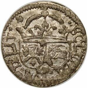 Zygmunt III Waza, Szeląg 1616, Wilno – krzyżyk