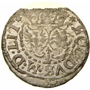 Zygmunt III Waza, Szeląg 1618, Wilno – Bogoria – obwódka