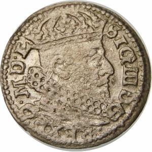 Zygmunt III Waza, Grosz 1626, Wilno – Pogoń w tarczy