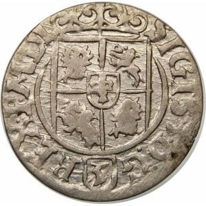 Zygmunt III Waza, Półtorak 1627, Bydgoszcz – Półkozic w tarczy ozdobnej