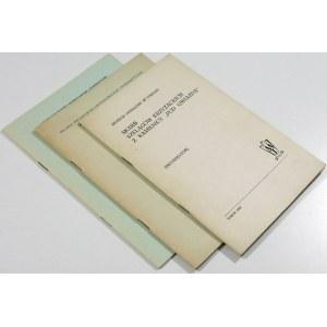 Biblioteczka Biuletynu Numizmatycznego PTAiN i MT – zakon krzyżacki (zestaw 3 szt.)
