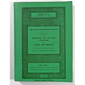 Sotheby & Co., Katalog aukcyjny kolekcji króla Egiptu – słynna kolekcja Faruka