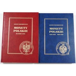 Parchimowicz Janusz, Monety polskie 1545-1586 i 1633-1864 i Monety polskie od 1916 (2 tomy)