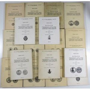 Kopicki Edmund, Katalog podstawowych typów monet i banknotów Polski oraz ziem historycznie z Polską związanych (tomy I-IX, 17 części – komplet)