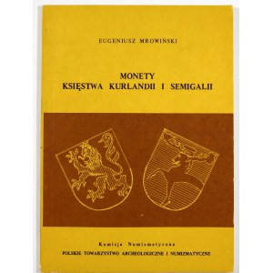 Mrowiński Eugeniusz, Monety księstwa Kurlandii i Semigalii