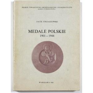 Strzałkowski Jacek, Medale polskie 1901-1944