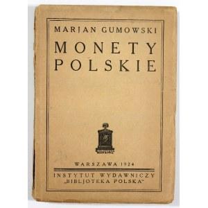 Gumowski Marian, Monety polskie