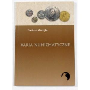 Marzęta Dariusz, Varia numizmatyczne